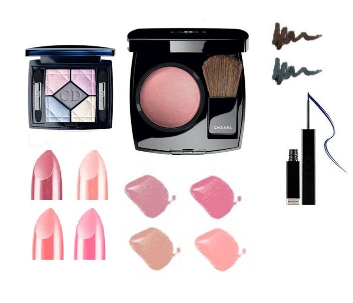 макияж для цветотипа лета, подходящие цвета