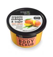 organic-shop-skrab-dlja-tela-keniyskiy-mango, уход за кожей, лучший скраб для тела